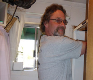 Contractor,-Steve-Krebs-puts-final-touches-on-the-job-for-the-Delk-family